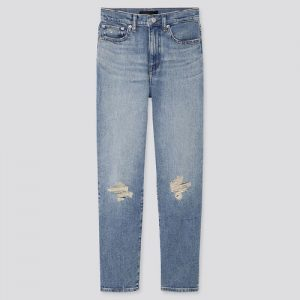 Uniqlo High Rise Straight Jeans